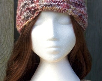 SALE Crochet Headband | Strawberry | Ear Warmer