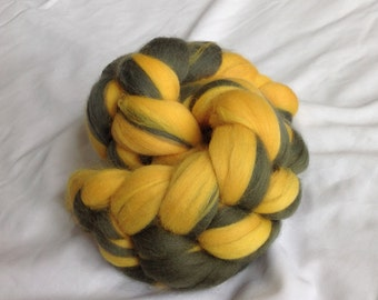 2 oz. Wool Roving Braid, SUPERWASH, for Spinning, Blending & More