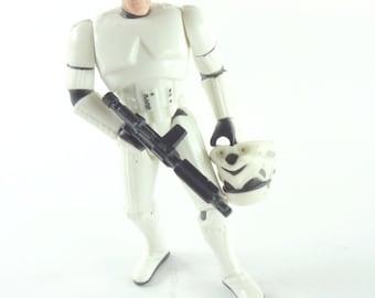 Vintage Star Wars POTF 2 Action Figure Han Solo In Stormtrooper Disguise 1996 Hasbro