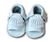 SALE!  Gladiator Moccs in White // White Baby Mocassins // Baby Mocassins // Baby Girl Sandals // White Baby Sandals