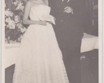 Father of the Bride - Vintage Photograph