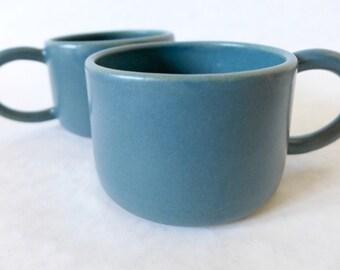 Teal Ceramic Mugs