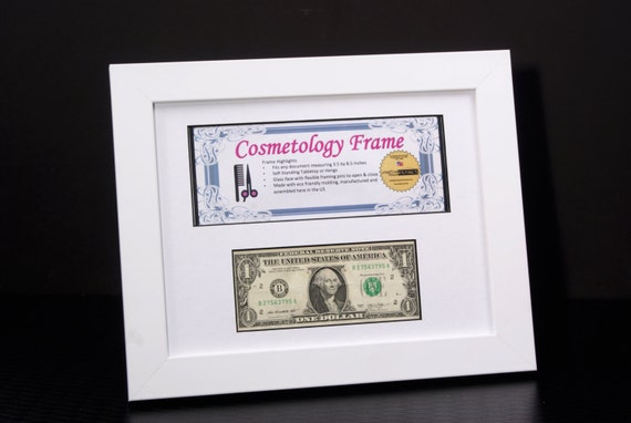 white business license first dollar frames for professionals 85 by 11 inch frame w