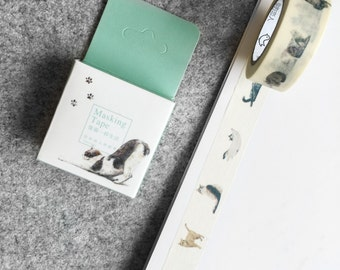 Cute washi tape - cats