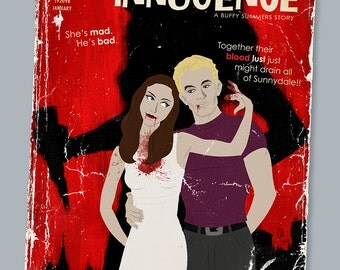 Faux Paperback Novel Cover - Feigned Innocence (Drusilla and Spike)