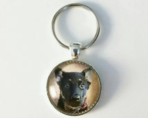 Dog Keychain, Personalized Dog Keychain, Dog Pendant, Customizable Dog Pendant, Dog Key Ring, Dog, Pets, Photo Keychain, Photo Pendant, Gift