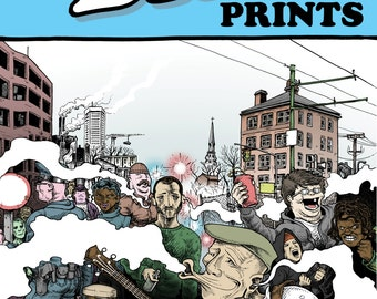 BINTPRINTS #1: comics zine by Clark Bint - PDF