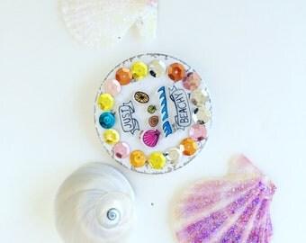 Just Beachy Button