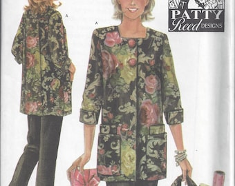 Simplicity 4746 Pattern for Jacket, Pants, and Tote by Patty Reed Designs in Sizes XS S M, Uncut