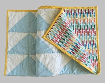 Gender Neutral Quilt Etsy