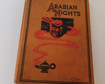 Vintage Book Arabian Nights and Other Stories 1928
