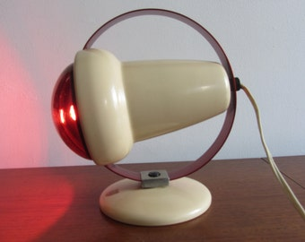 CHARLOTTE PERRIAND - Philips Infraphil, Model 7529, Infrared heat lamp - Made in Holland - 1950's.