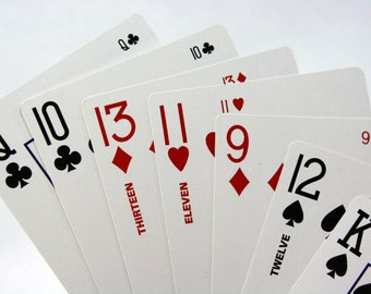 Two2Six Playing Card Deck-Play 6-Handed 500, Super Solitaire, Party Poker-Includes 68 Cards in All, 52 Regular, the 11s, 12s, 13s & 4 Jokers