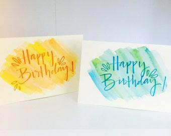 Birthday Cards - Blank Inside