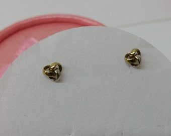 Yellow Gold/White Gold studs node gold 333 OR104