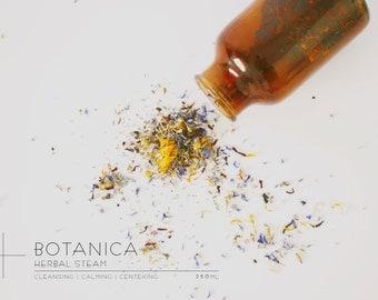 BOTANICA || Herbal Steam.            Natural Artisan Skincare