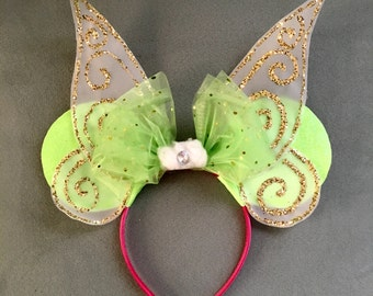 Tinkerbell / Pixie / Fairy Mouse Ears