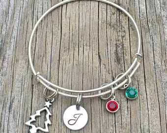Bracelet - Christmas jewelry - Holiday bracelet - Winter - Holiday jewelry - Christmas gift - Christmas  - Gift for her