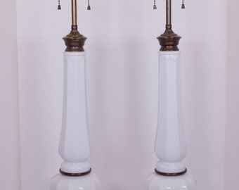 Ceramic White Lamps