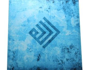 Islamic gift stretched giclee print canvas wall art modern
