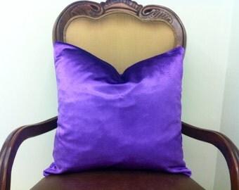 Purple Velvet Pillow Cover 18X18, 20X20, Purple Pillows, Decorative Pillow, Purple Cushion Covers, Couch Sofa Accent Pillow, Throw Pillows