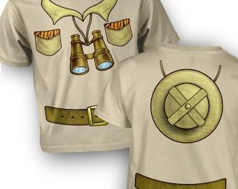 Safari Explorer Costume kids t-shirt