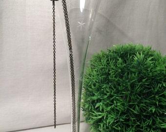 Black Y Necklace