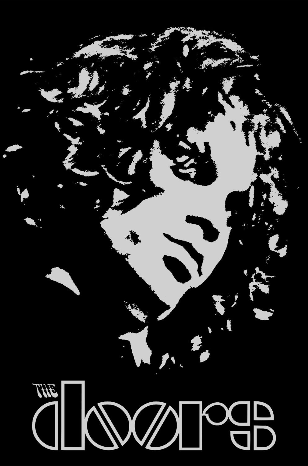 Cool Posters Black And White Jim Morrison po...
