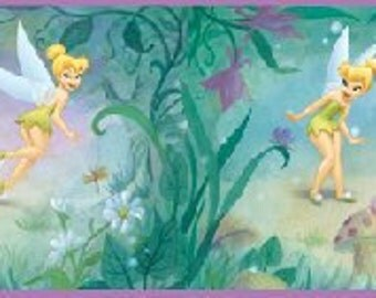 Very Fairy Tinker Bell 5-inch Wall Border