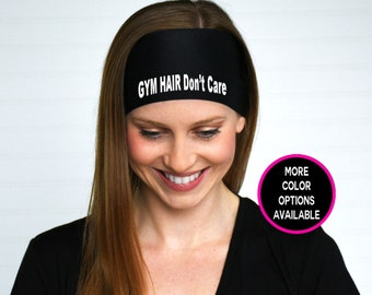 Gym Hair Don't Care Headband | Gym Headband | Fitness Headband | Workout headband