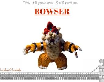 Nintendo Mario Brothers Bowser Amigurumi Doll