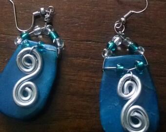 Ocean Stone Earrings