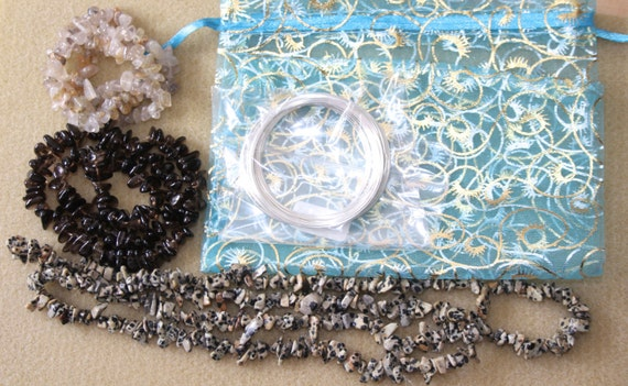 Memory wire chip bead starter kit from wrightwaysbeads