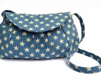 Blue Stars Clutch Purse, Blue Clutch bag, Clutch Purse, Clutch bags, Blue Handbag, handbag