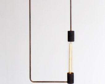 Minimal Industrial Modern Rectangle ceiling lamp, pendant lamp, Balance Lamp