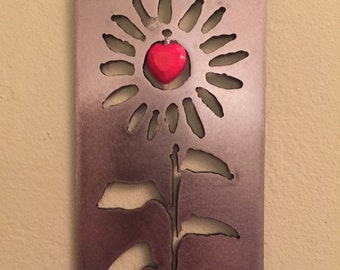 Sunflower Wall Hanging Metal