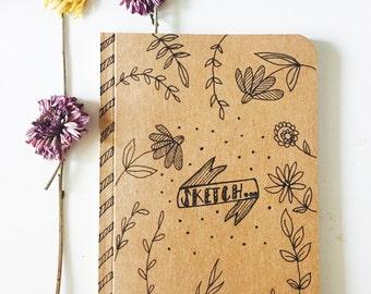 Mini Travel sketchbook