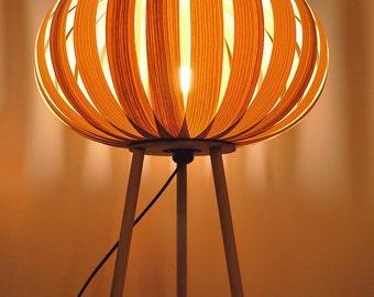 Table lamp Modern natural Wood Ash Veneer desk lamp light / bedside lamp