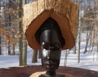 Mpingo Wood African Sculpture