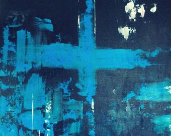 Painting No.5 - original acrylic abstract painting on canvas