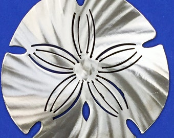 Sand-Dollar Metal Wall Art Nautical Marine Sea Life Beach House Home Decor