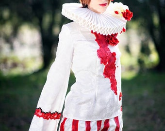 Vocaloid Meiko cosplay costume, Dark Wood Circus, Halloween Party, used