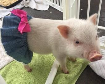 Mini pig clothes etsy