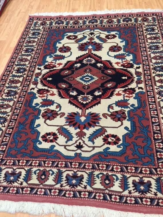 4' x 6' Persian Ghoochan (Quchan) Oriental Rug - Hand Made - 100% Wool
