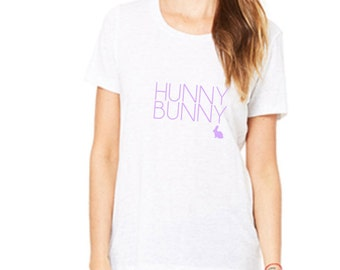 Women's Easter Shirt -HUNNY BUNNY