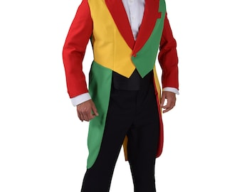 Red / Yellow / Green Tailcoat