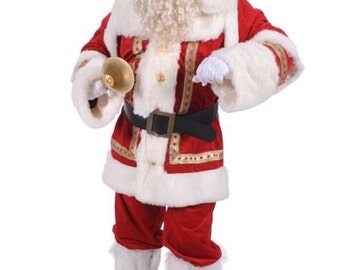 Super Deluxe Father Christmas Costume