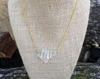 Crystal Chipped Necklace