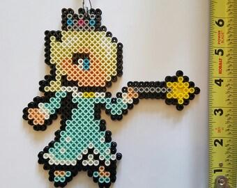 ROSALINA Smash Brothers/Super Mario Galaxy Bead Sprite + Lanyard