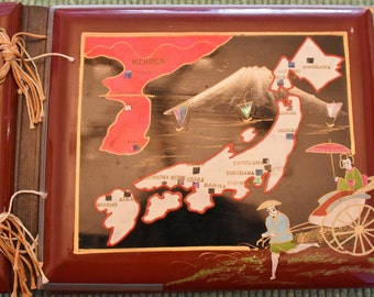 1960 Lacquer Photo Album, Japan and Korea